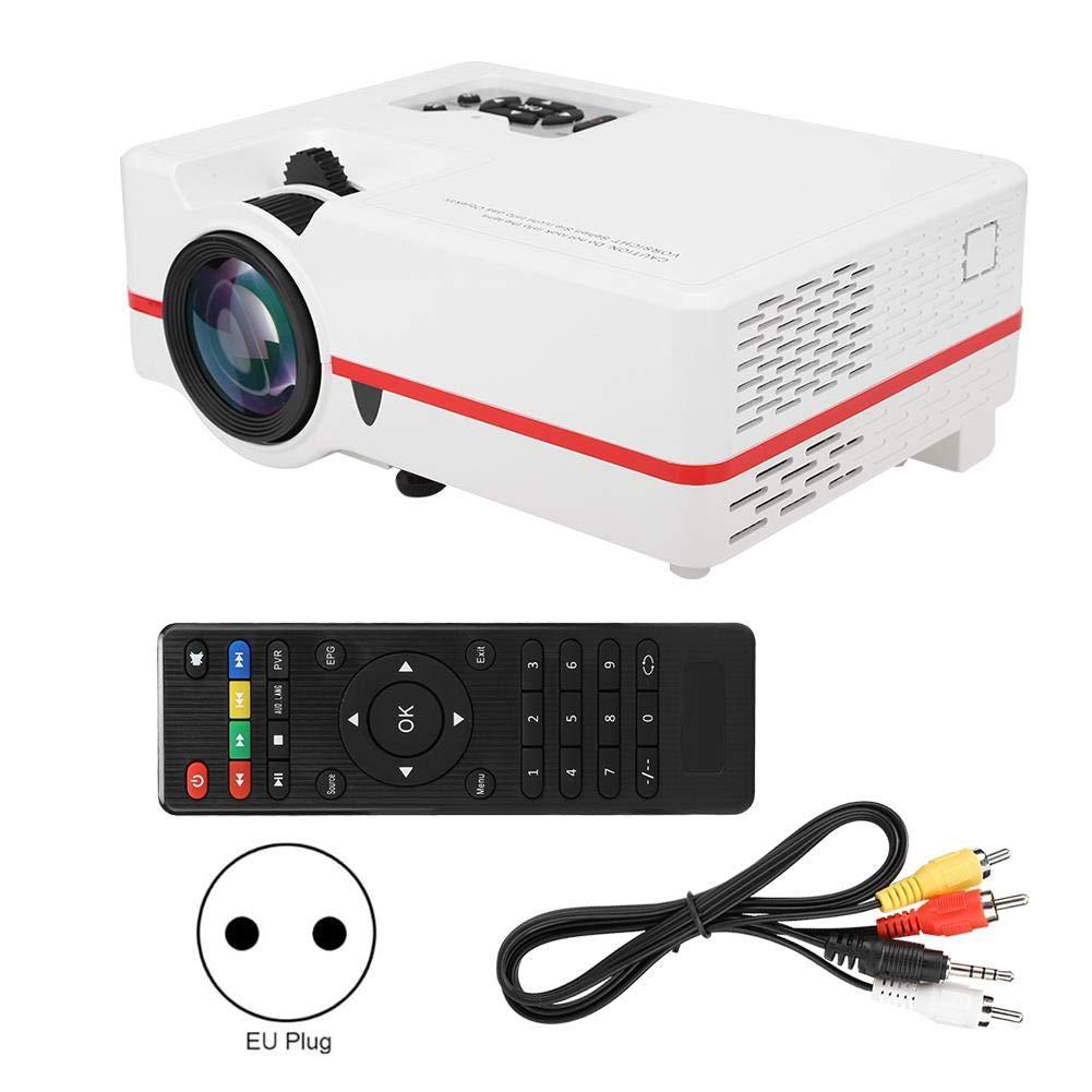 Proyector de video, proyector de películas portátil Mini Micro LED ...