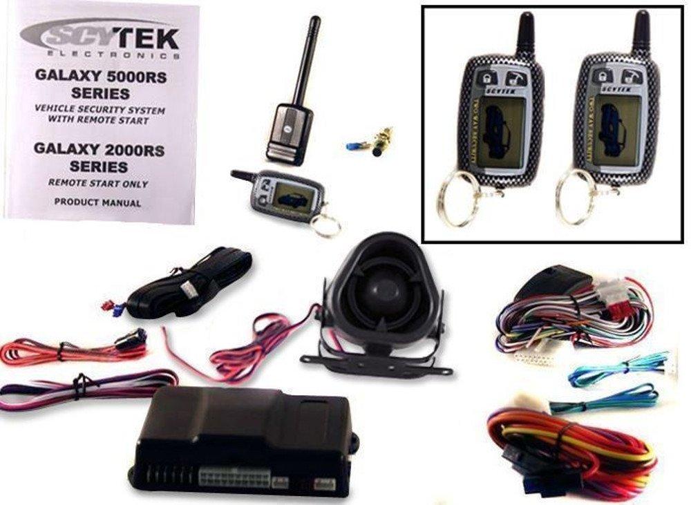 amazon com scytek galaxy 5000rs 2w 1 5 button 2 way combo car alarm rh amazon com