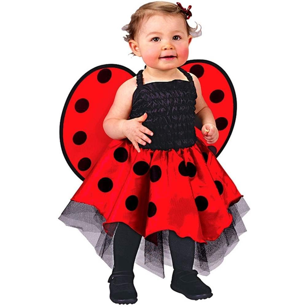 Ladybug Costume Baby One Size Fits Up To 24 Months FUN WORLD/EASTER UNLIMITED 9666