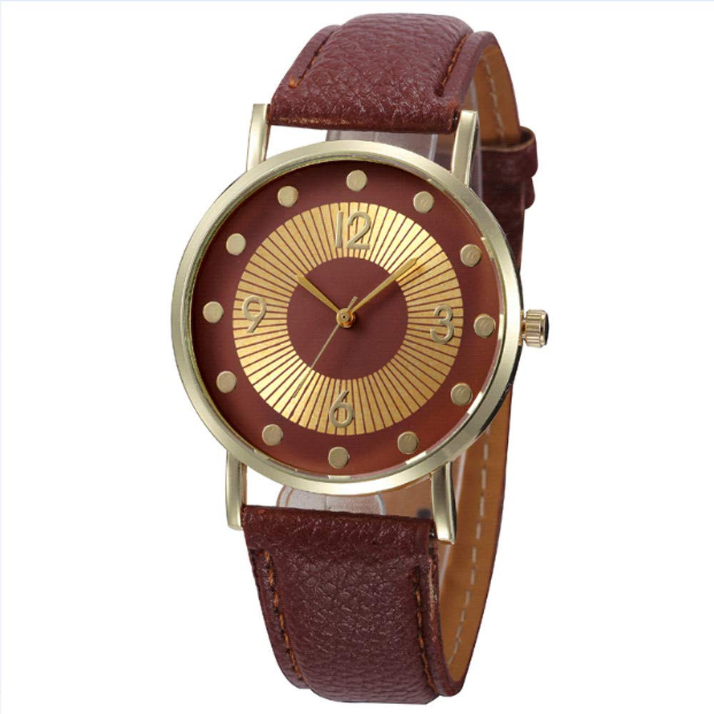 Zaidern Women Wrist Watch Womens Fashion Design Checkers Analog Quartz Classical Leather Watches Ladies Casual Simple Round Dial Leather Band Belt Wristwatch Luxury Business Retro Watches for Women