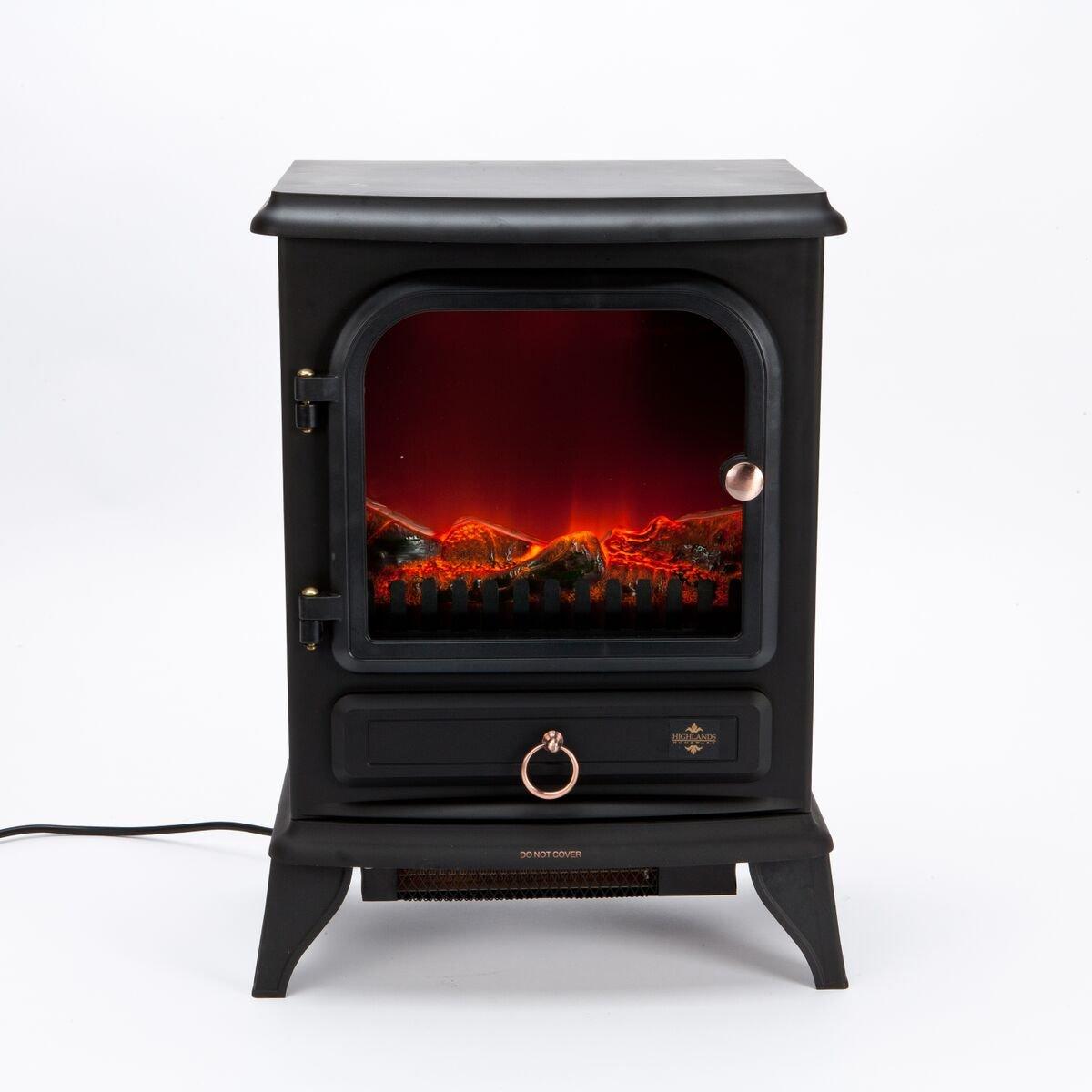 Iniciar rinconera 2000W eléctrico llama efecto estufa calentador de fuego: Amazon.es: Hogar