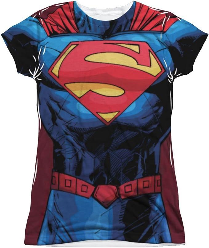 Superman DC Comics - Camiseta de manga corta para niños, diseño de superhéroe 52: Amazon.es: Ropa y accesorios