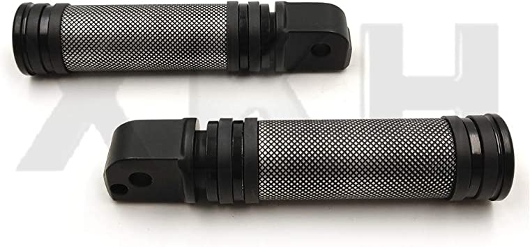 NBX-Diamond Black Footpegs For Compatible with passenger 2018-later Softail Slim FLSL Breakout FXBR