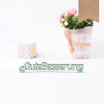 Amazon.de: Kleinlaut 3D-Schriftzug \