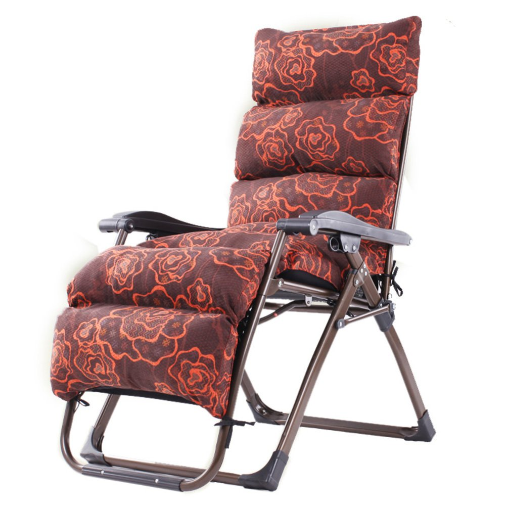 L&J 庭の Chaise のラウンジ,調節可能な折りたたみ椅子テラス オフィス ビーチ屋外庭バルコニー ピクニック用ポータブル プール デッキチェア,荷重 200 Kg を負荷します。,パティオ リクライニングチェア B07BRB7RSR E E