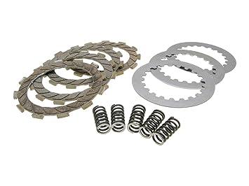 Kupplungsscheiben Set Malossi verstärkt für Derbi Senda GPR, Aprilia RS RX SX, Gilera RCR, SMT (D50B0), EBE, EBS: Amazon.es: Coche y moto