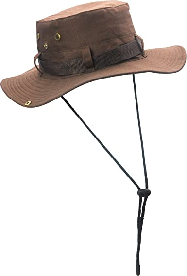 BEAUTYBIGBANG Bucket Hat Fishing Hat Soft Cotton /& Polyester Fabric Unisex Wide Sun Cap Windproof for Hiking Camping Traveling Fishing