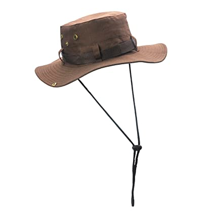 6bbed1b6e Amazon.com : ELUTONG Wide Brimmed Hat Car Jungle Sun Fishing Beach ...