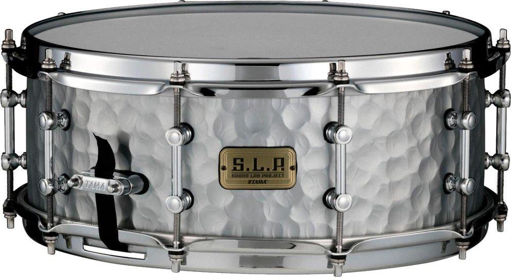 Tama S.L.P. Vintage Hammered Steel Snare Drum - 5.5'' x 14''