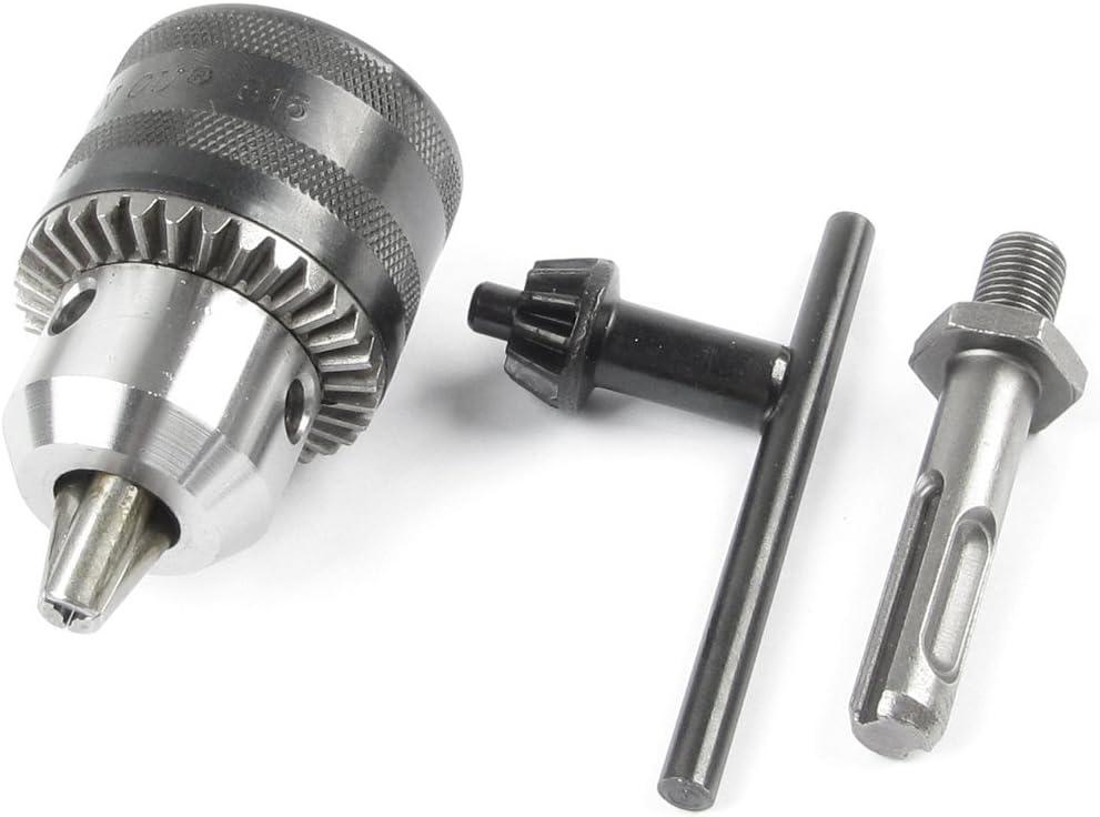 Key Type 1.5-13mm Capacity B16 Tapered Bore Drill Chuck