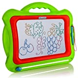 Magnetic Drawing Board For Kids - Doodle Board - Magna Doodle - Erasable Writing Board for Toddler and Children - Magic Draw Sketch Pad for Child - Travel Magnetic Drawing Board for Baby