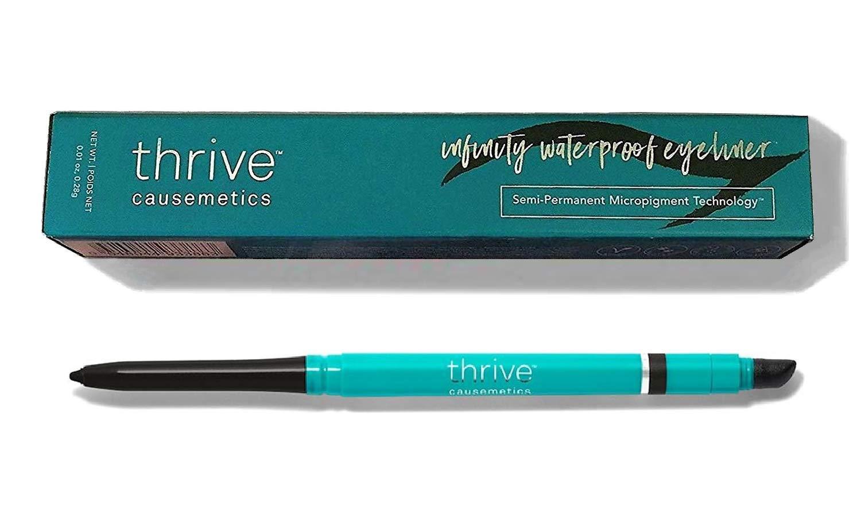 Thrive Causemetics - Infinity Waterproof Eyeliner Shade: Lauren (black matte)