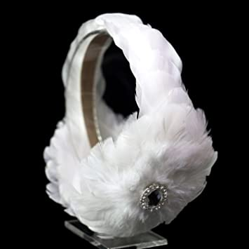 Amazon.com   Swan Feather Headpiece Bridal Ballerina Wedding Bridesmaids  Headband Hair Accessories   Beauty d8e4a4ad19e