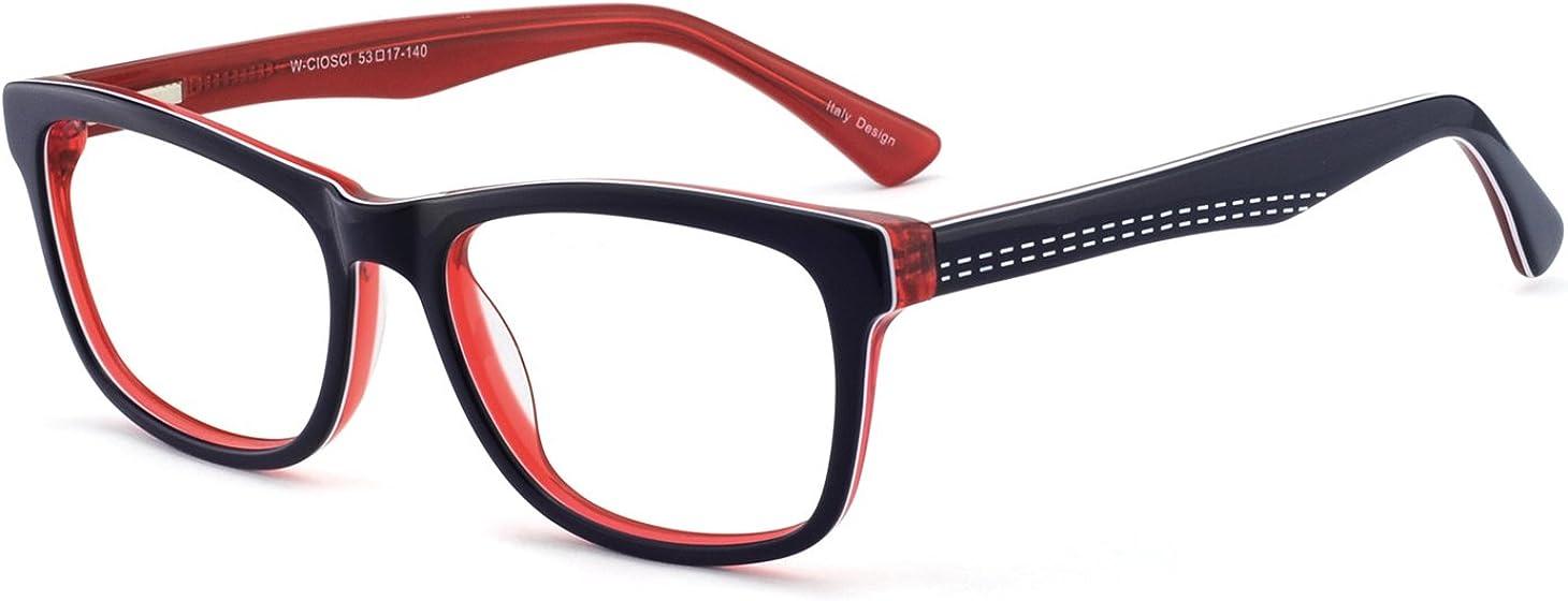 OCCI CHIARI - Gafas de plástico con bisagras de resorte para mujer