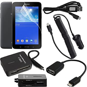 Kit Set Accesorios 8 en 1 para Samsung Galaxy Tab 3 7.0 Lite ...