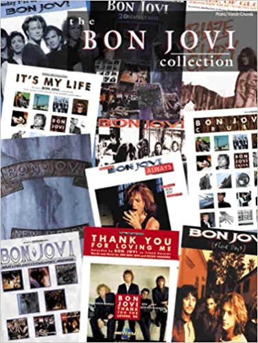 The Bon Jovi Collection Pianovocalchords Bon Jovi 9780757995422