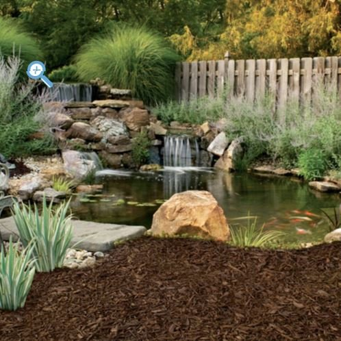 Rubberific Recycled Rubber Landscape Mulch, Earthtone Color, Made From 100% Recycled Rubber, 80 Cubic Feet, Rubber Mulch, 99.9% Wire Free Easy to Install Long-Lasting Color. Made in USA (Border Recycled Mulch Rubber)