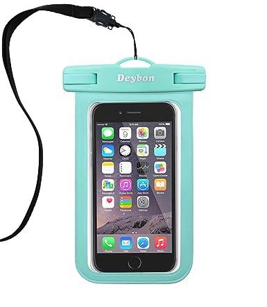 Amazon.com: deybon funda impermeable universal, teléfono ...