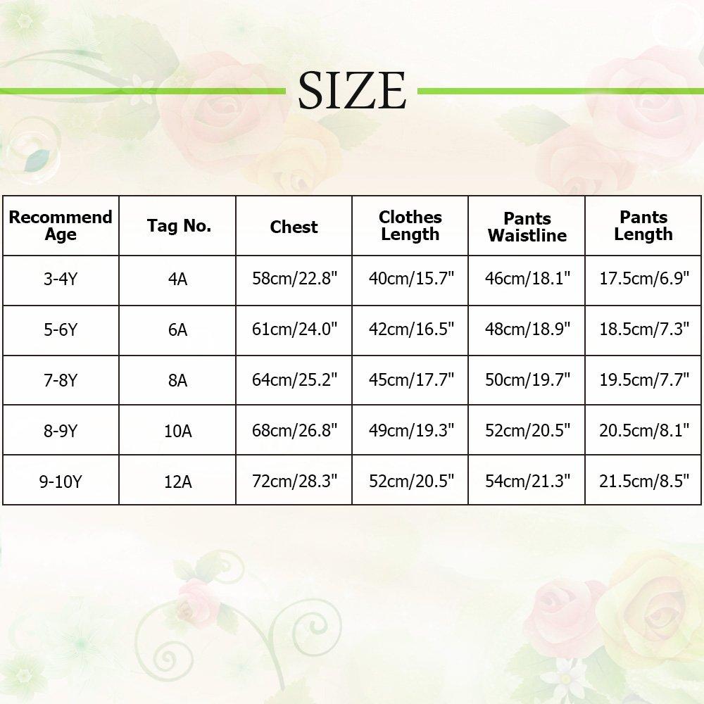 TFJH E Girls Two Piece Swimwear Butterfly Dots Printed Swimsuit UPF 50 UV 3-10Y