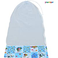 Younique Mosquito Net for Baby Cradle/Mosquito Net for Baby Jhula/Baby Swing with Zip Opening (0-3 yrs)
