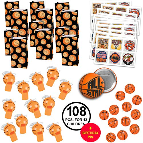 (Basketball Party Favors Basketball Birthday Party Basketball Team Party Favors Large Bundle for)