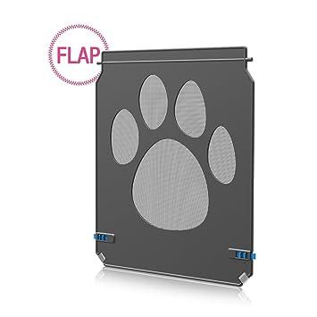 Namsan Solapas Perros y Gatos Tapa Mosquitera Fácil de Instalar 26 x 20 cm