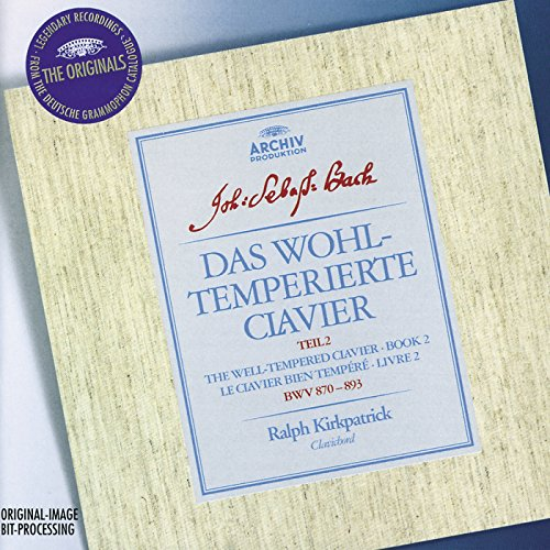 UPC 028946362327, Bach: The Well-Tempered Clavier, Book 2 (BWV 870-893)