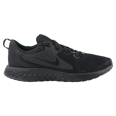 b4a8753da3 Nike Unisex Kids' Kinder Laufschuh Rebel React (gs) Training Shoes, Black  002