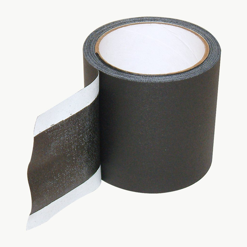 JVCC Wire-Line Cable Cover Tape: 4 in. x 30 ft. (Black)