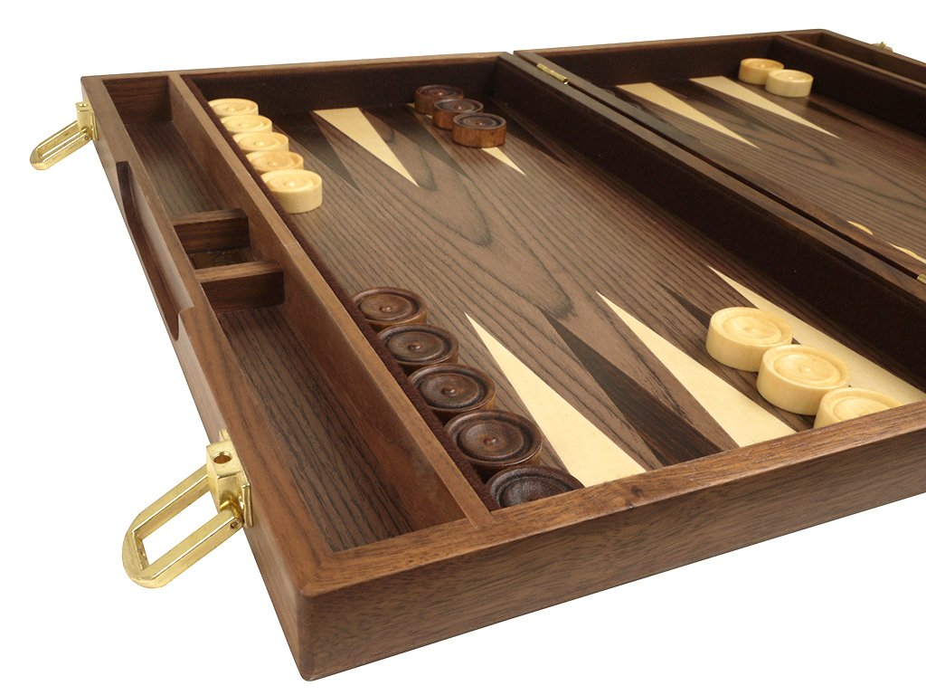 15 Classic Handcrafted Wooden Attache Case Orion Craft Walnut Wood Backgammon Set