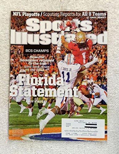 Kevin Benjamin - Florida State Seminoles - 2013 National Champions! - Sports Illustrated - January 13, 2014 - Auburn Tigers (Chris Davis) - College Football - BCS Championship - SI - Auburn Florida Football
