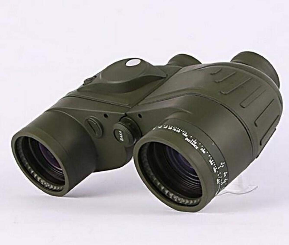 CTO Telescope 7X50 Binoculars Adult and Internal Range Finder Compass Waterproof Army Green Navigation, Boating, Fishing, Water Sports,A,Telescope by CTO (Image #4)