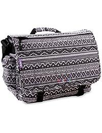 Thomas Lightweight Travel School Shoulder LAPTOP Messenger Bag fits under 17-inch Laptop in Laptop Sleeve