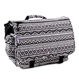 J World New York Thomas Laptop Messenger Bag, Tribal