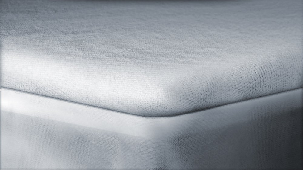 Queen MPCT01Q Fitted-Sheet Style 60-Inch by 80-Inch HOSPITOLOGY PRODUCTS PREMIUM Mattress Protector Natural Cotton 20-Year Warranty Waterproof /& Hypoallergenic