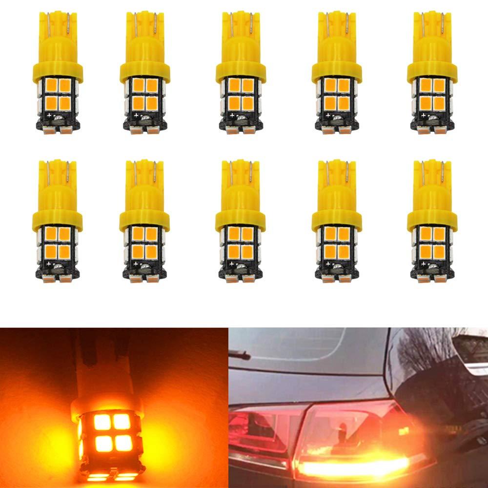 BlyilyB 2-Pack 1157 BAY15D 5730 20 SMD Amber//White 6000-6500K Switchback Turn Signal LEDS Bulbs 3.8W 12V Super Bright 1000 Lumens Brake Light Lamp