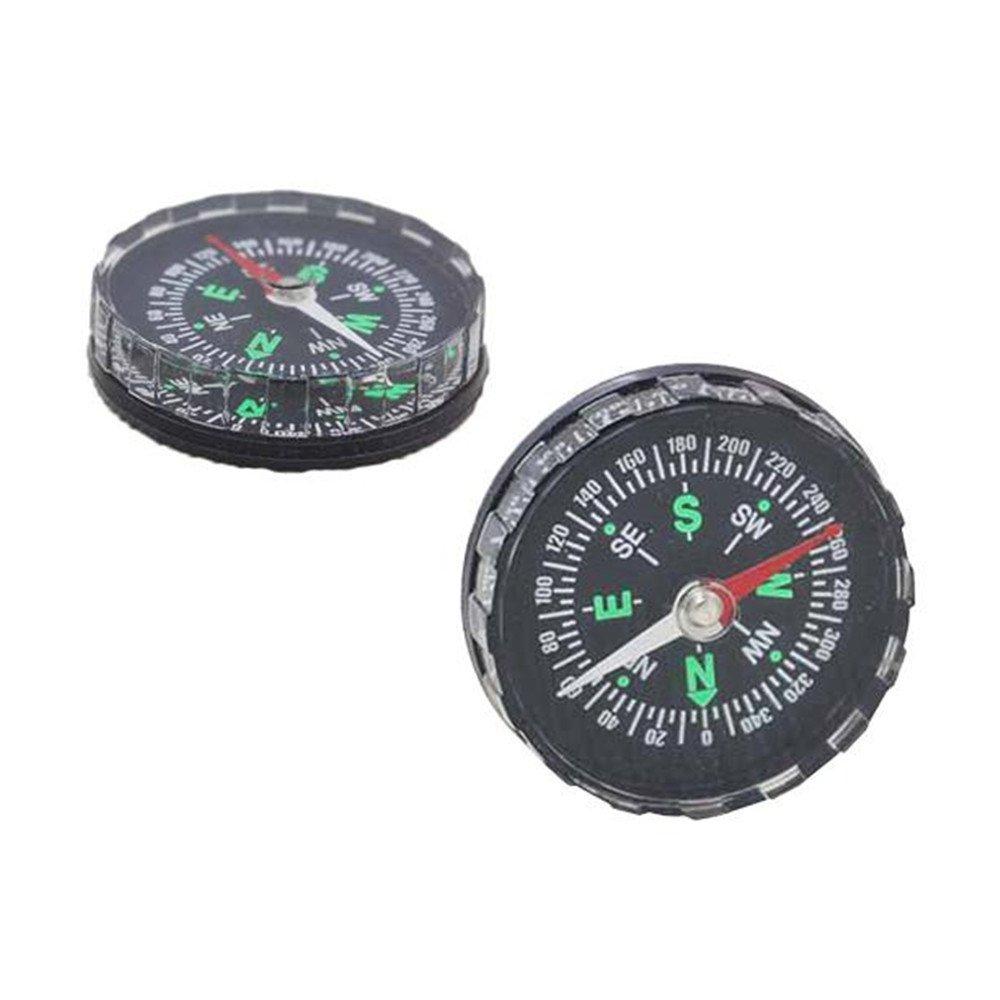 コンパス、milazer Miniポケット液体入りボタンのコンパスハイキングキャンプアウトドア B01MR4VL99