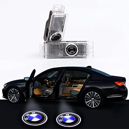 Coche Proyector de logo led puerta Ghost Shadow luces para BMW E60 ...