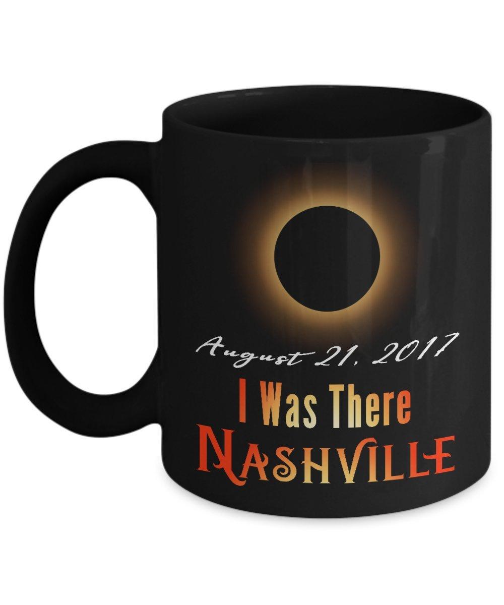 I Was There Nashville Solar Eclipse 2017 Mug - Great Gift - Solar Eclipse 2017 Souvenirs Mug