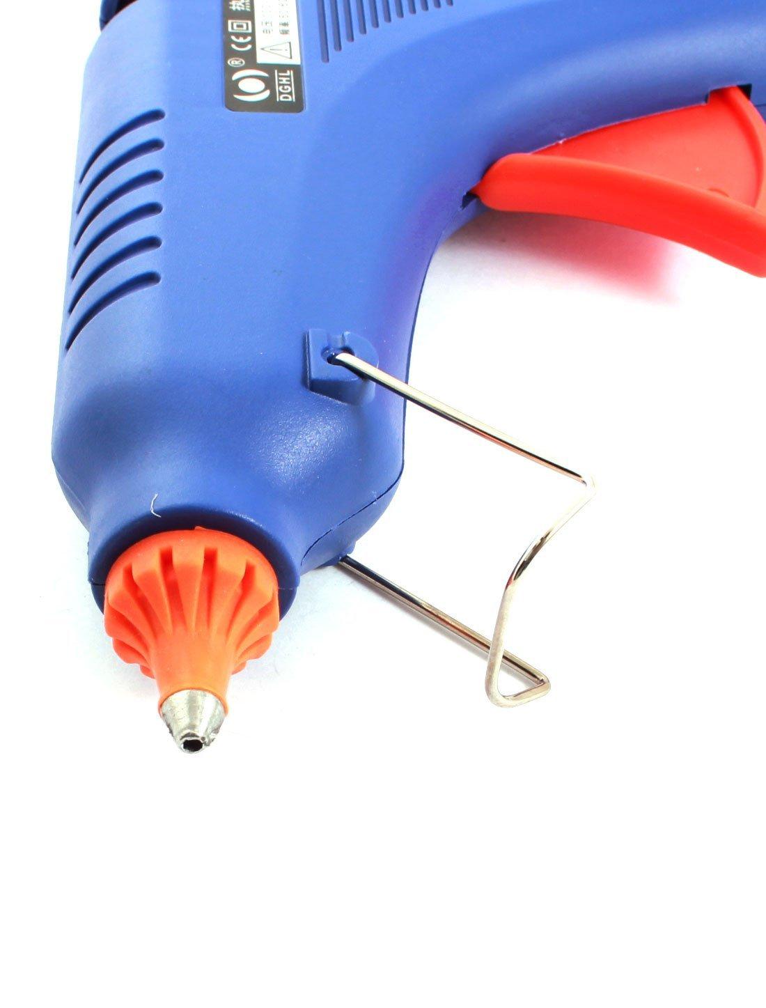 100-240V US Plug 60W Bleu Hot Melt Glue Gun Kit w 10xAdhesive Sticks by eDealMax (Image #2)