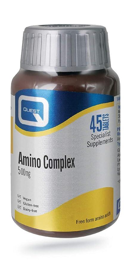 Quest Amino Complex 500mg, 45 tabletas: Amazon.es: Electrónica