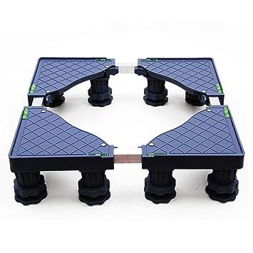 Trolley Aparato De La Lavadora, Ruedas De Base Ajustable para Electrodomésticos Frigoríficos Congelador Secadoras,8*(Fixed-Foot): Amazon.es: Hogar