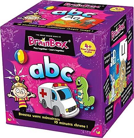 Brain Box - Juego de Memoria ABC en francés (47193320): Amazon.es: Juguetes y juegos