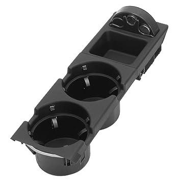 Recipiente de almacenamiento portavasos, contenedor de monedas de coche para BMW E46, de Yeshi: Amazon.es: Coche y moto