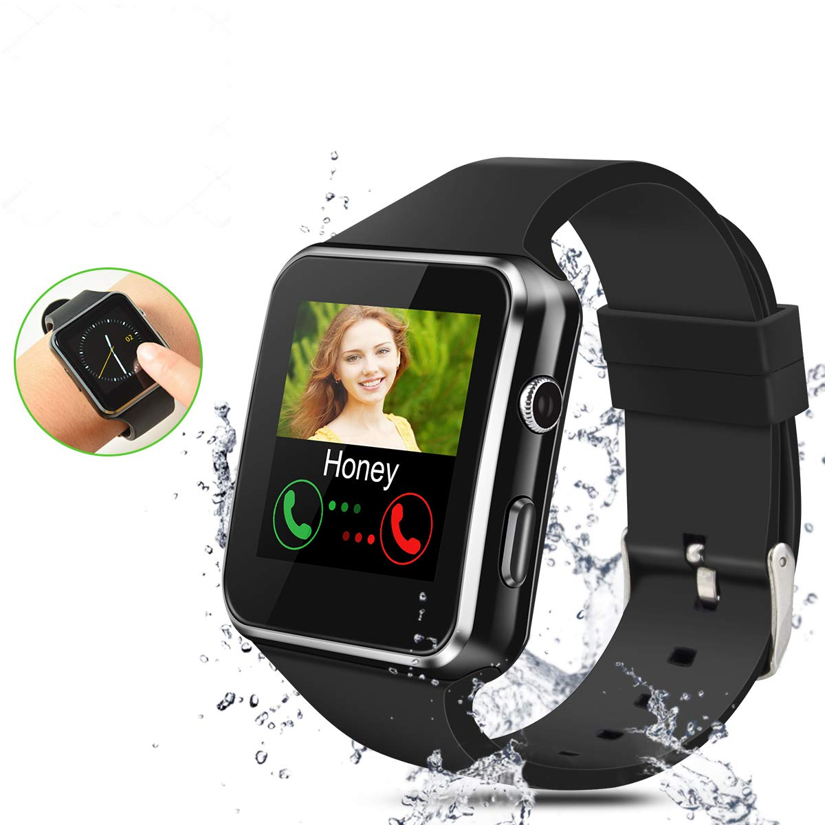 Smartwatch Bluetooth,Reloj Inteligente con Whatsapp ...