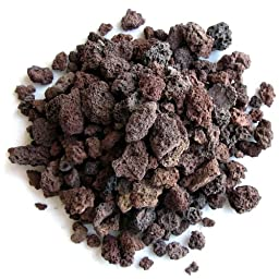 SubstrateSource Natural Red Lava Gravel - 2 Pounds
