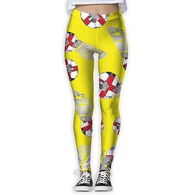 2018 Football Game England Women Printed Design Leggings Activewear Cute Legging Yoga Pants