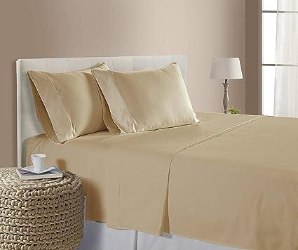 Amazing Split King (39x80) Adjustable Bed Size Sheets Luxury Soft Egyptian Cotton 5