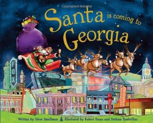 Read Online Santa Is Coming to Georgia pdf