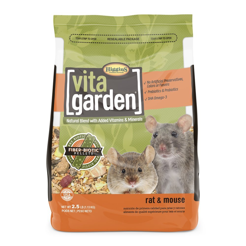 Higgins Vita Garden Rat & Mouse Food 2.5 lbs. Large